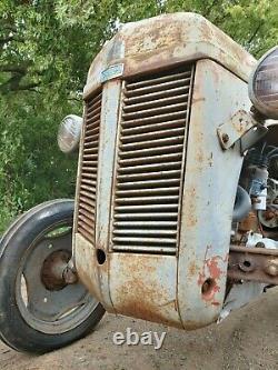 Grey Ferguson Tractor Petrol