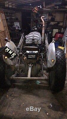 Grey Fergy Fergie Ferguson T20 Tef20 Mil Loader Massey Tractor JCB Gwo