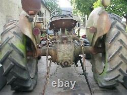 Grey Fergy Massey Ferguson TEA petrol