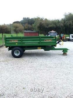 Herron Tractor Farm Tipping Trailer 6 Ton Massey Ferguson John Deere New