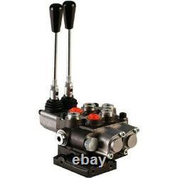 Hydr. Ventil Handsteuerventil 1860100M95 2-Heblig Massey Ferguson P510/P481