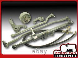 Hydraulische Lenkung Massey Ferguson MF 35 133 135 140 145 148 gebogene Achse