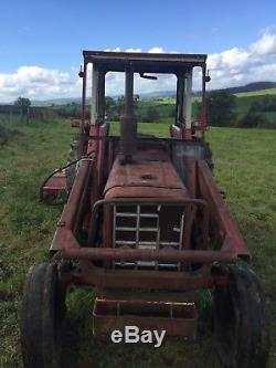 International 475 Vintage Tractor with Perkins Engine as Massey Ferguson 165