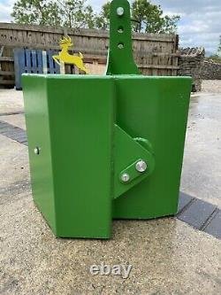John Deere Style Tractor Weight Block, Wafer Weight- Front Weight 900kg