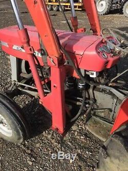 LOADER ONLY Massey Ferguson 135 Tractor Front Loader & Muck Fork 165 35