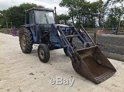 Leyland 384 Loader Tractor (Not Massey Ferguson, Case, International, Ford)