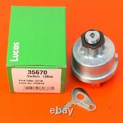 Lucas Tractor Plant Ignition Switch 128SA Massey Ferguson 30 275 Case JCB 35670