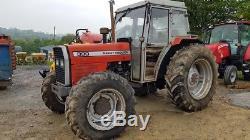 MASSEY 390 4WD TRACTOR 1989 massey ferguson MF mf 698t low hours 390t 290 590