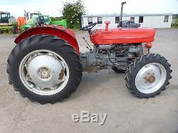 MASSEY FERGUSON 148 4WD TRACTOR £6200 +vat