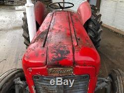 Massey Ferguson Cylinder Diesel Tractor Original Condition Cy on To30 Ferguson Tractor Hydraulics