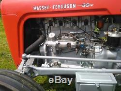 MASSEY FERGUSON FE35 1958 tractor