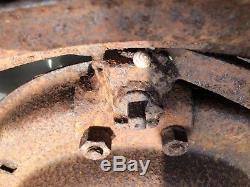 MASSEY FERGUSON PAVT TRACTOR WHEELS 28 inch