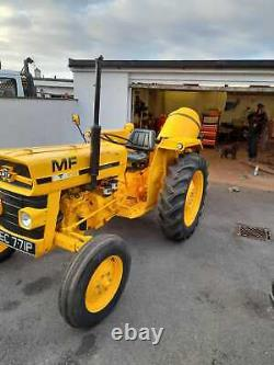 MF20 Massey Ferguson Industrial (Industrial version of MF135) with Teagle mixer