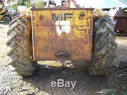 MF massey ferguson 50b industrial loader tractor 2wd