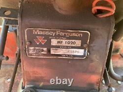 Massey Ferguson 1020 4wd 3cyl Compact Tractor Manual Gearbox Not Kubota B6000