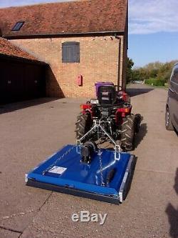 Massey Ferguson 1205 hydro including New 4ft Topper, £3000