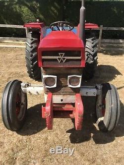 Massey Ferguson 130 Tractor & Topper