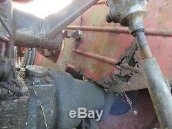 Massey Ferguson 130 tractor. Runner spares or restoration