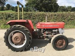 Massey Ferguson 135 1965 Mf Tractor