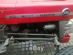 Massey Ferguson 135 (1967) Road Registered