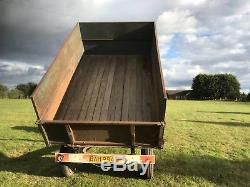 Massey Ferguson 135. 20 Complete with Wheatley Tipping Trailer
