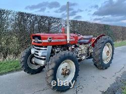 Massey Ferguson 135 4wd Tractor Rare