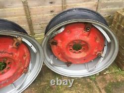 Massey Ferguson 135 PAVT 28 Inch Rear Wheels