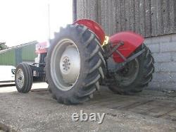 Massey Ferguson 135 Tractor 1970 With Recent New Engine Fitted
