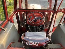 Massey Ferguson 135 Tractor Original Off Farm Condition Smallholding C/W Loader