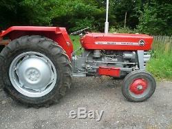 Massey Ferguson 135 Tractor Part Restored Must Be Seen