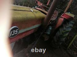Massey Ferguson 135 Tractor Very Original Vintage Tractor Barn Find 135