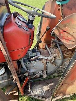 Massey Ferguson 135 Tractor c/w V5 NO VAT