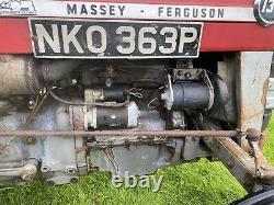 Massey Ferguson 135 Vintage Tractor