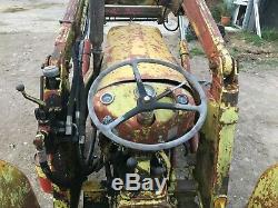 Massey Ferguson 135 industrial loader