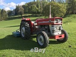 Massey Ferguson 135 tractor NO VAT