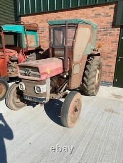 Massey Ferguson 135 tractor Swept Axle