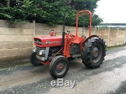 Massey Ferguson 135 tractor With Power Loader