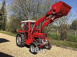Massey Ferguson 135 tractor fully restored condition ready for work or show