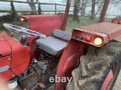 Massey Ferguson 135 tractor mechanically restored NO VAT enthusiast required