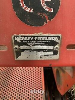 Massey Ferguson 137 Inline Baler NO VAT