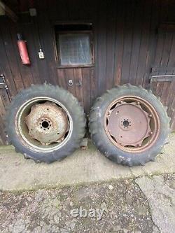 Massey Ferguson 148 / Leyland 245 Wheels & 11/32 Firestone Tyres