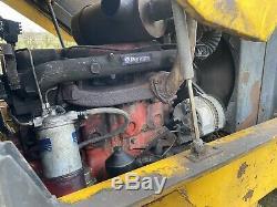 Massey Ferguson 14K 4wd Forklift Loader Perkins Vintage Classic Restoration