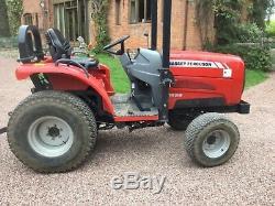 Massey Ferguson 1529 compact tractor, 485 hours, not kubota