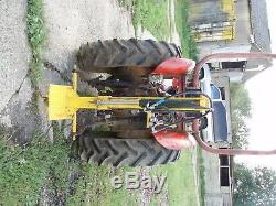 Massey Ferguson 152 Tractor With Log Splitter