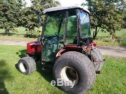 Massey Ferguson 1531 Compact Tractor Hydrostatic On Turf Tyres