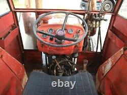 Massey Ferguson 155 tractor c/w loader