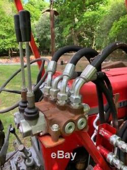 Massey Ferguson 165 Loader Tractor