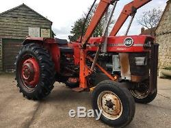 Massey Ferguson 165 Multipower With Front Loader