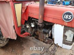 Massey Ferguson 165 Multipower tractor, square section axle