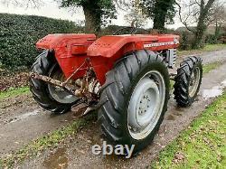 Massey Ferguson 165 Tractor 4WD Conversion RARE